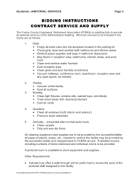 janitorial service invoice sample via Relatably.com