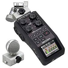 Zoom H6 Six-Track Portable Recorder: Musical ... - Amazon.com