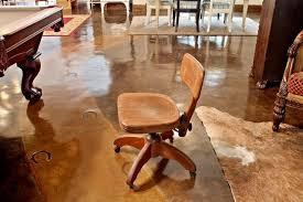 antique oak office swivel chair antique oak office chair