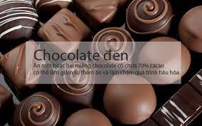 Kết quả hình ảnh cho chocolate đen