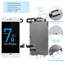 1Pcs OEM LCD For iPhone 7 7 Plus Display <b>Full Set</b> Digitizer ...