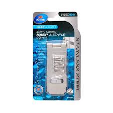 Zenith <b>Hasp</b> & Staple 316 <b>Stainless Steel</b> 90mm - Bunnings <b>New</b> ...