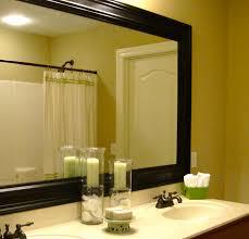 large bathroom mirror frames improving alluring decor