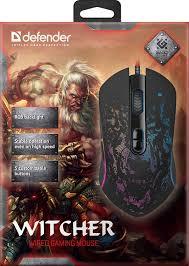 <b>Мышь</b> проводная игровая <b>Defender Witcher</b> GM-990 | Купить с ...