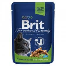 Отзывы о Влажный корм для кошек <b>Brit Premium</b> for Sterilized