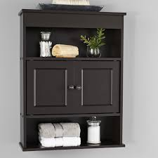 Mainstays <b>Bathroom Wall Mounted</b> Storage Cabinet with 2 Shelves ...