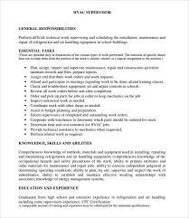 best hvac resume samples   best sample resumes     best hvac resume samples