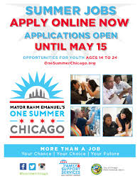 one summer chicago program will offer job one summer chicago 2017 program will offer 30 000 job opportunities for young people
