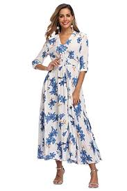 VintageClothing <b>Women's Floral Maxi Dresses</b> with Sleeves Flowy ...