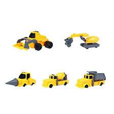 Buy Crazy-Store 5pcs <b>Plastic Excavator</b> Tractor Engineering Car ...