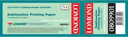 <b>Сублимационная бумага Lomond</b> XL DYE 0809903, ролик 910 x ...