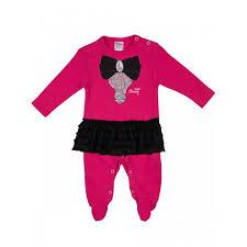 <b>Viva</b> Baby <b>Комбинезон</b> с жабо для девочки Мини мама D8002 ...