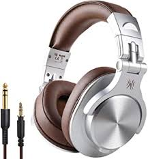 <b>OneOdio Fusion</b> Wired Over Ear Headphones <b>Professional</b> Adapter ...