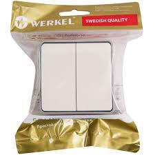 <b>Выключатель накладной</b> влагозащищённый <b>Werkel</b> Gallant 2 ...