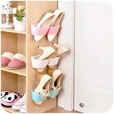 <b>Shoe Racks Creative</b> Home Wall Door Mounted Hanging Shoes ...
