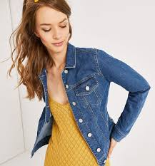 <b>Denim trucker jacket</b> - Medium denim - Women - Jackets - Promod