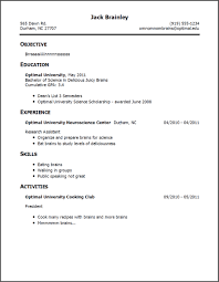 examples of resumes sample simple resume regarding stunning 85 stunning sample simple resume examples of resumes