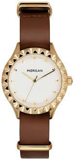 <b>Часы</b> наручные <b>женские Morgan</b>, цвет: коричневый, золотой. MG ...