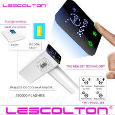 2020 Lescolton <b>4in1 icecool IPL</b> Epilator Permanent Laser Hair ...