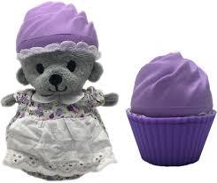 "<b>Игрушка</b> ""<b>Cupcake bears</b>: Фиалка"" медвежонок в капкейке ..."