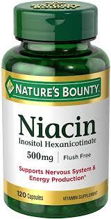 Nature's Bounty Niacin Flush Free 500 mg: Health ... - Amazon.com