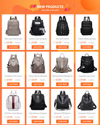 <b>Fashion</b> Women Backpack <b>2018 High Quality</b> Backpacks for ...