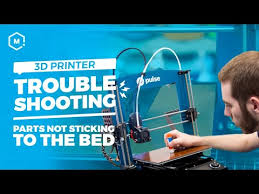 3D Printer Troubleshooing Guide: Parts Not Sticking to the Bed ...