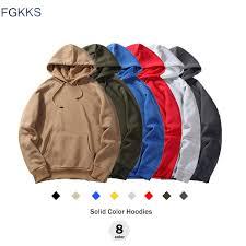 FGKKS <b>New Autumn</b> Fashion Hoodies Male Warm <b>Fleece</b> Coat ...