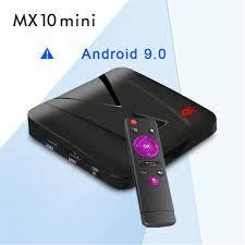 <b>MX10 Mini Android</b> 9.0 TV Box RK3328 2GB DDR3 16GB EMMC ...