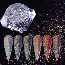 0,5 г <b>BORN PRETTY лазерный порошок</b> для дизайна ногтей пыль ...