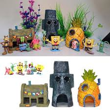 Mini SpongeBob & Squidward House <b>Style</b> Pineapple <b>Cartoon</b> ...