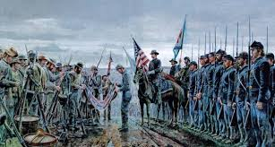 Image result for surrender at appomattox civil war wiki images