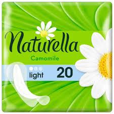 Naturella <b>прокладки ежедневные</b> Camomile <b>Light</b> daily, 1 капля ...