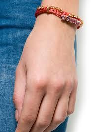 <b>Браслет</b> из шнуров с кристаллами - Женская | Mango МАНГО ...