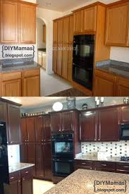 Kitchen Cabinet Makeover Diy 17 Best Ideas About Gel Stain Cabinets On Pinterest Staining