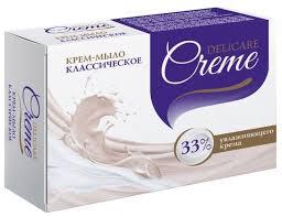 Купить Крем-<b>мыло</b> кусковое <b>Delicare</b> Классическое, 100 г по ...