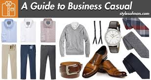 <b>Business Casual</b> for <b>Men</b>: Dress Code Guide & Inspiration • Styles of ...