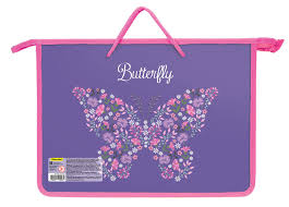Упаковка папок для <b>тетрадей SILWERHOF</b> Бабочки и <b>цветы</b> ...