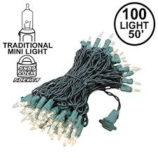Novelty Lights 100 Light Clear Christmas Mini String ... - Amazon.com