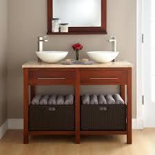 white storage unit wicker: edeboviken sink  bowls white width  quot sink cabinet width