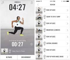 apps to reinvent yourself in  nike trainer