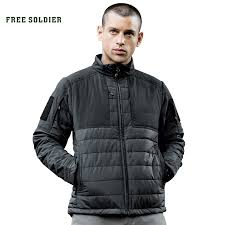 FREE SOLDIER <b>Outdoor sports</b> camping hiking <b>tactical jacket</b>, heat ...
