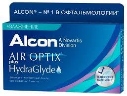 Air Optix (<b>Alcon</b>) Plus HydraGlyde (6 <b>линз</b>) — купить по выгодной ...