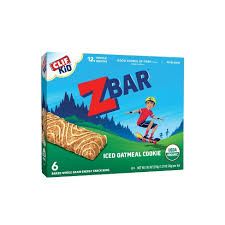 CLIF Kid ZBAR <b>Organic</b> Iced Oatmeal Cookie Snack Bars - 6ct : Target