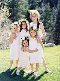 The Best-Dressed <b>Flower Girls</b> from Real Weddings | Martha Stewart ...