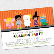 kids halloween costume party invitations birthday kids printable purple background halloween party invitation