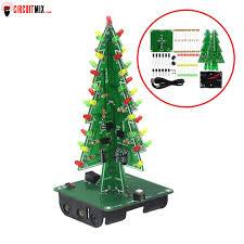 <b>DIY Christmas Tree</b> RGB LED Flash <b>Light</b> - Circuitmix