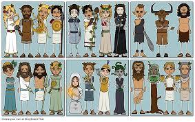 greek mythology lesson plans greek gods and goddesses greek mythology characters