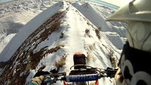 I Almost Died Watching This Crazy Guy Ride His Dirt Bike on a ...