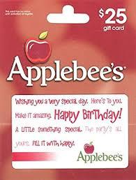 Amazon.com: Applebee's Happy Birthday $25 Gift Card: Gift Cards
